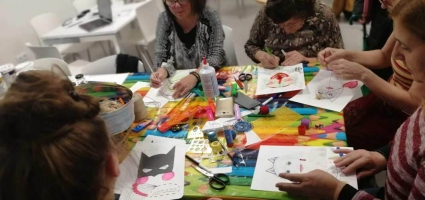 "2019 - Workshop ""Superheroine"" in the Equality Space Carme Chacón"